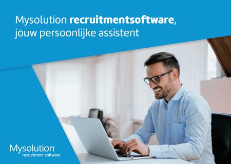 Mysolution Recruitmentsoftware Brochure