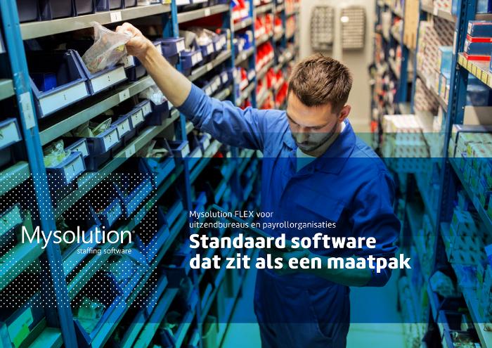 Brochure Mysolution Uitzendsoftware Flex 2021