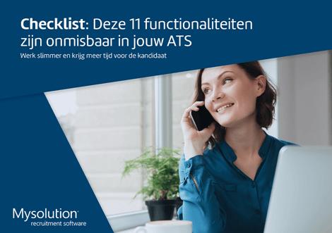 Checklist - Deze 11 functionaliteiten zijn onmisbaar in jouw ATS - Mysolution-1
