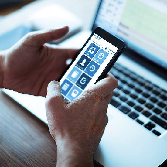 Smartphone-portal
