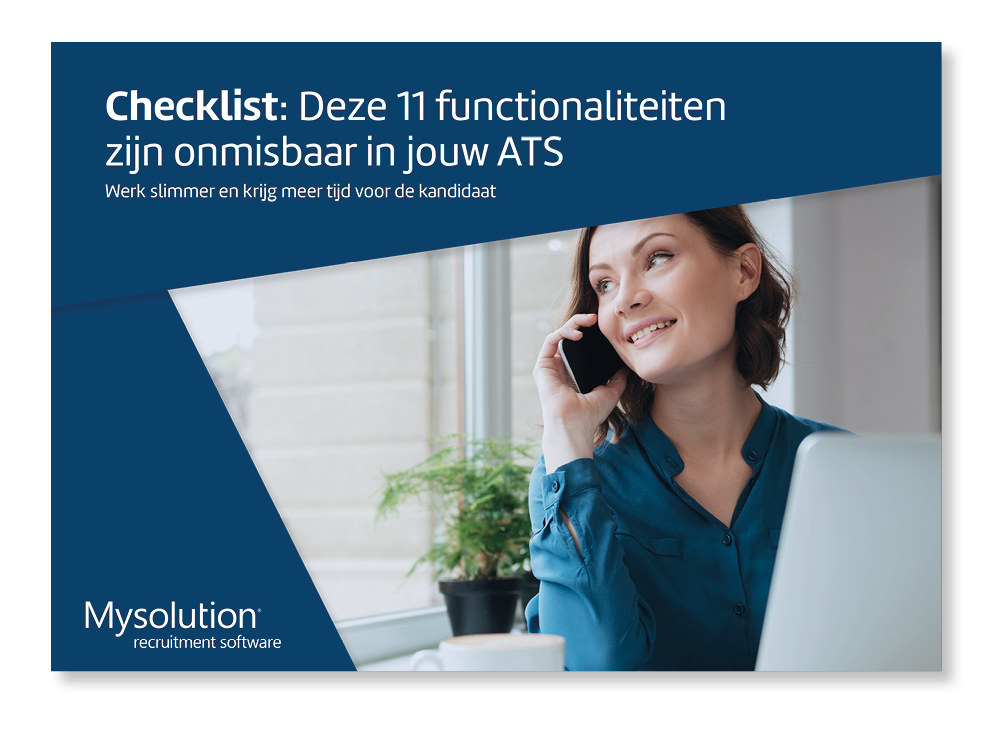 Checklist: ATS Mysolution Recruitmentsoftware
